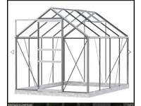 Simplicity Classic Green Greenhouse Starter Package 6ft3 wide (1920mm) x 8ft3 long (2538mm)