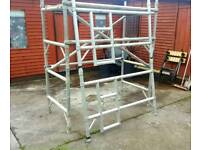 Over 2m High Aluminium Scaffolding Tower Set [RUST FREE]