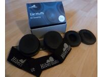 Hibermate sound-reducing earmuffs for sleeping (BNIB)
