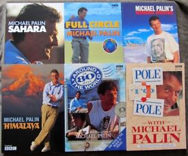 The Michael Palin Collection - 6 Travel Books (Retail Price £89.94)