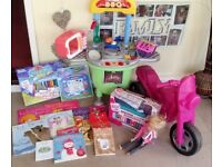 girls bundle of toys