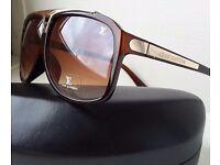 Louis Vuitton Mens Evidence Sunglasses