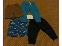 12 - 18 month trouser/short bundle