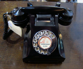 OLD GPO MODEL 332 TELEPHONE, WELL RESTORED & READY TO PLUG & GO! vintage old