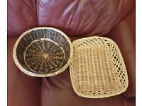 Hamper baskets in fantastic condition.