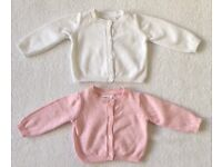 Next Baby Girl Cardigans 0 - 3 Months