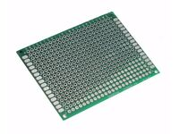 NEW Double Sided 5x7cm Breadboard PCB Strip board Printed Circuit Prototype