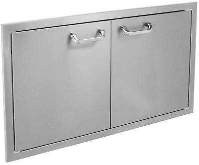 "36"" x 22"" Double Access Doors, Double Walled,BBQ Outdoor Kitchen, BBQ Island"