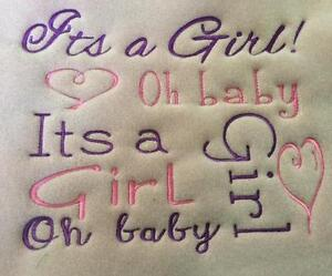 Embroidery for Wedding, Baby, Teacher Gifts & More
