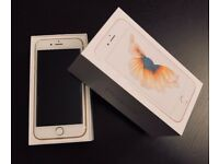 iPhone 6s 16GB Rose Gold as good as new