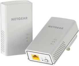 BRAND NEW NETGEAR PL1000 Powerline 1000 Mbps 1 Gigabit Ethernet Port Adapter, Homeplug Access Point