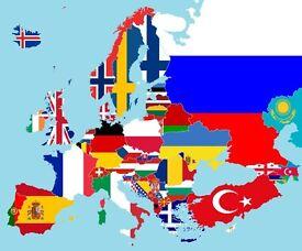 Do you have a camera and speak any European language (eg. Swedish, Polish, Portuguese)?