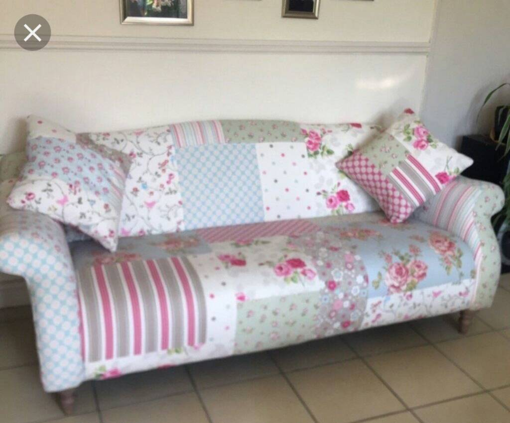 Dfs Doll Patchwork Sofa In Sheffield South Yorkshire Gumtree