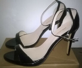 "Loslandifen 4"" High heels - colour black - size UK 8"