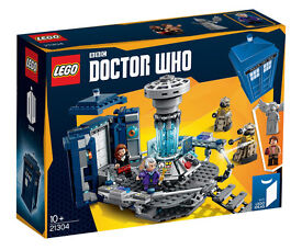BRAND NEW DISCONTINUED Lego Ideas 21304 Dr Doctor Who from BBC!