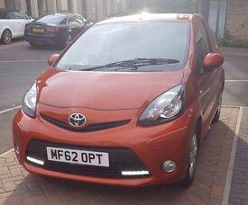 2012 Toyota AYGO, 1.0 orange 3 doors very low millage