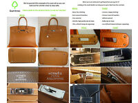 Authentic Hermes Birkin 35 Brown Leather Handbag - Brand New with Dustbag