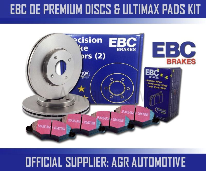 EBC FRONT DISCS AND PADS 296mm FOR LEXUS IS250 2.5 2013-