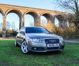 Audi A6 Avant 3.0 QUATTRO Auto!S LINE!Beige!Caramel Interior!New MOT!S5 wheels!new tires!Light Pack