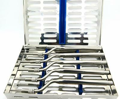 Sinus Lift Osteotomes Kit Offset Pointer Tip Cassette Implant Premium Tools