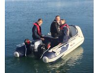 RIB Honwave (2014) t32ie with Yamaha 9.9HP 4 stroke