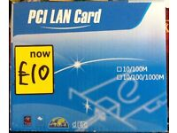PCI Lan Card for Computer Tower Brand New Never Been Used