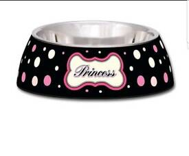 Milano collection dog bowl