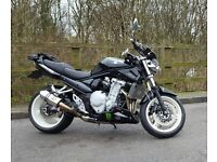 Suzuki Bandit 1250 13,402 miles. Great spec. Immaculate. Not your usual Bandit