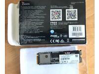 Adata SX8000 NVME pcie ssd drive - m.2 factor, as new, under warranty