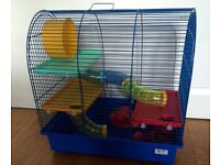 Hamster Cage with Accessorise