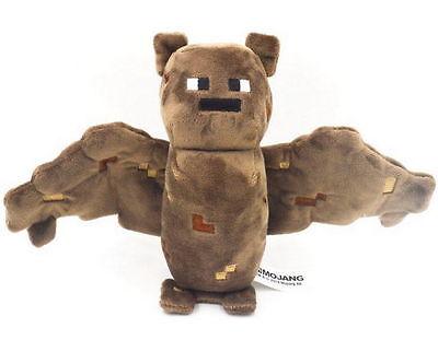 """Minecraft Bat Plush Toy New 7"""" Tall Stuffed Toy FAST USA Shipper"""