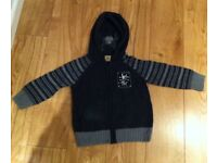 Monster Republic Spider Age4 Hooded Top