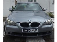BMW 525 2004 MAY SWAP/PX