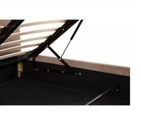 Superking ottoman storage bedframe (almost new)