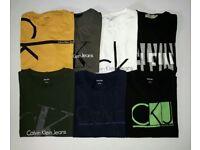 Calvin Klein mens Original Tshirts for Bulk Stock Lot Wholesale Only