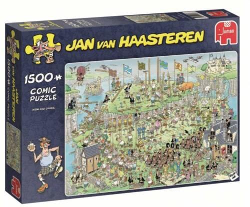 Jumbo Jan Van Haasteren 1500 Piece Jigsaw Puzzle - HIghland Games
