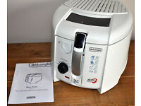 De' Longhi Roto Fry Deep Fat Fryer, white.
