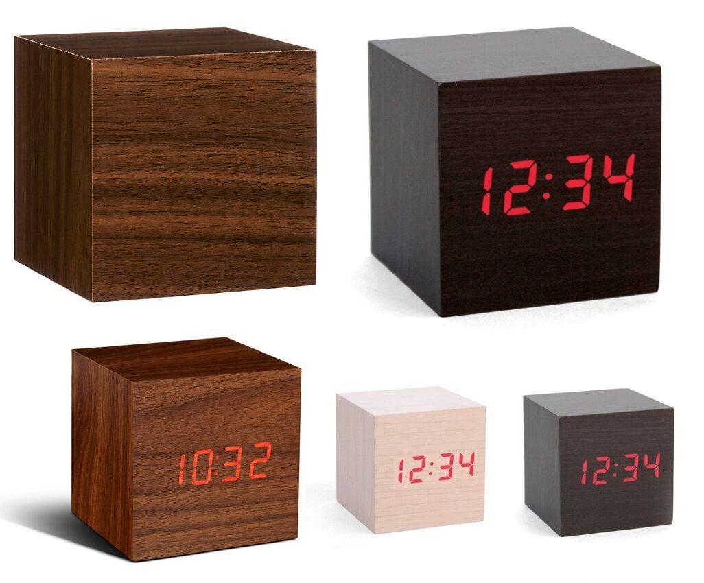 Reloj De Escritorio De Madera Estilo Temperatura Ambiente por solo 14,36€