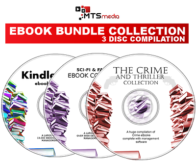 Most Popular Ebook Collection Set On 3 Discs For Kindle, Ipad, E-readers Dvd -  - ebay.co.uk