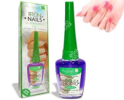 Arobell Iron Nails Calcium Nail Hardener The Best for weak thin peeling (Best Nail Hardener For Peeling Nails)