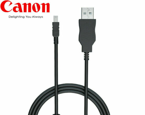 Genuine Canon USB Interface Cable IFC-130U for EOS Rebel T1i T2i T3 T3i T4i T5