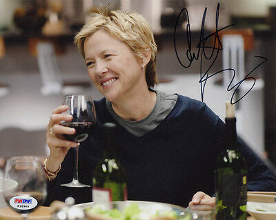 Annette Bening Signed 8X10 Photo American Beauty Being Julia Psa Dna Autographed
