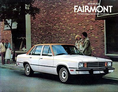 1979 FORD FAIRMONT ORIGINAL USA SALES BROCHURE