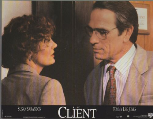 Tommy Lee JONES - Susan SARANDON  8 French Lobby Cards The CLIENT