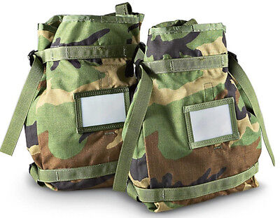 Voodoo Tactical Merced Hydration Pack MOLLE H2O Carrier with Bladder Woodland