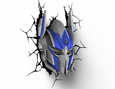 TRANSFORMERS TF4 Optimus Prime 3D Nachtlicht 3DLightFX LED Lampe batteriebetrieb ()