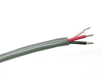 25 Carol C2831.41.10 3 Conductor 18 Gauge Unshielded Cable 3c 18awg