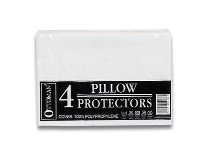 Job Lot 10 x 4 Pack Pillow Protectors - Wholesale!
