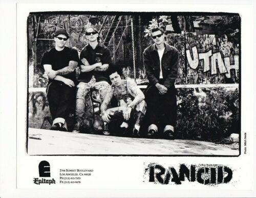 Rancid circa 1990s Photo by Mitch Ikeda B&W 8x10 Print