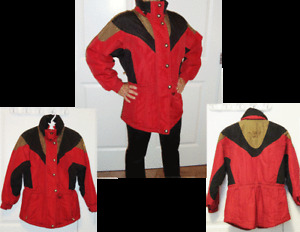 Ladies Ski Jacket Size 8-10